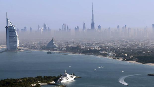 Vista general de Dubai