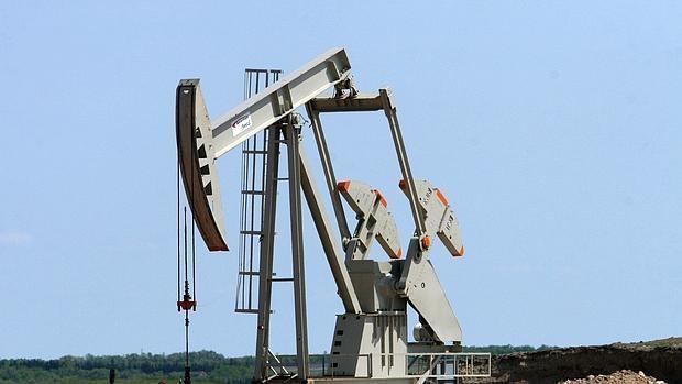 Una explotación petrolífera