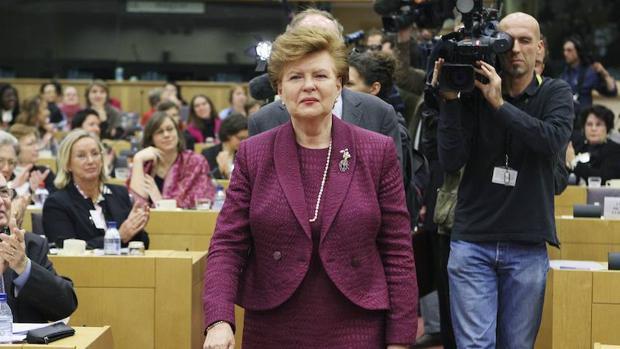 Vaira Vike-Freiberga, expresidenta de Letonia