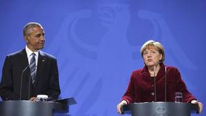 Merkel garantiza a Obama un mayor gasto en Defensa