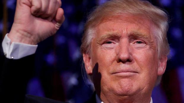 El presidente electo de EE.UU., Donald Trump