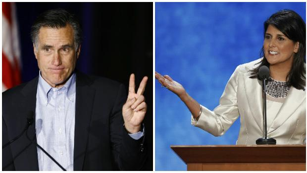 Romney y Haley, las opciones del Partido republicano para ocupar la secretaría de Estado