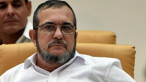 El líder de las FARC, Rodrigo Londoño alias «Timochenko»