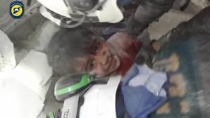 Siete niños mueren en un ataque con proyectiles en el oeste de Alepo