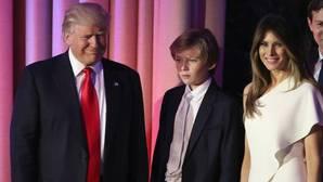 Melania Trump y su hijo Barron no se mudarán por ahora a la Casa Blanca