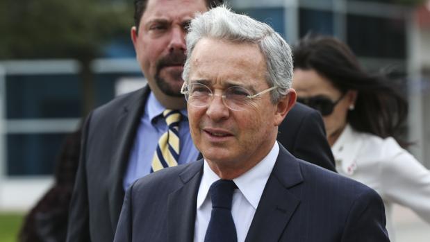 El ex presidente colombiano Álvaro Uribe, en una imagen reciente tomada en Miami