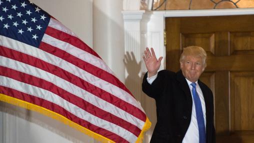 Donald Trump, el pasado día 20 en su club de golf de Nueva Jersey