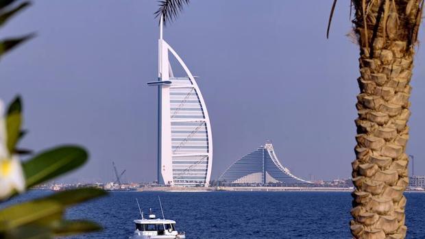 Uno de los edificios más emblemáticos de Dubai