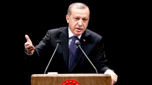 el presidente turco, Recep Tayyip Erdogan, este jueves en Ankara