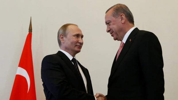 Putin y Erdogan, un encuentro en San Patersburgo en agosto