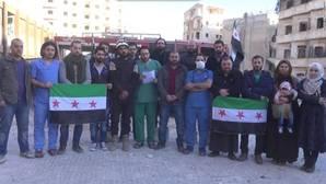 Alepo lanza un mensaje desesperado al mundo: «¿Va a escuchar nuestro grito?»