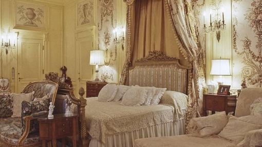 Una de las habitaciones de la mansión de Trump