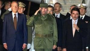 Cinco décadas de relación entre Fidel y España