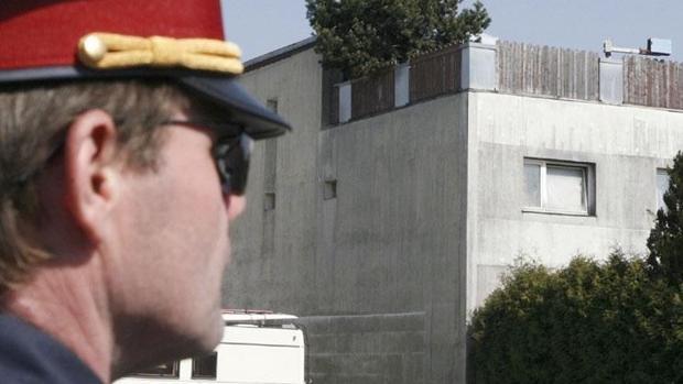Fotografía de archivo de un agente de la Policía austriaca
