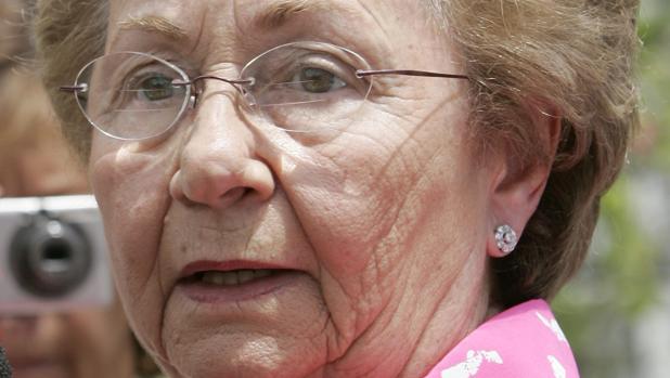 Juanita Castro, hermana de Fidel y Raúl Castro, en 2009