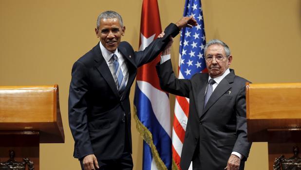 Obama realizó una visita histórica a Cuba en marzo de este año, donde fue recibido por Raúl Castro