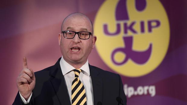 Paul Nuttall, nuevo líder del eurófobo UKIP