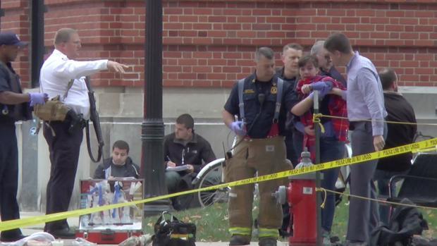 Uno de los escenarios del ataque en el campus de la universidad de Ohio