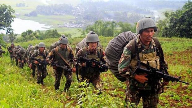 El Ejército fiilpino ha recuperado el 60% del territorio ocupado por el grupo Maute