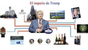 El emporio que deja atrás Donald Trump para ser presidente de Estados Unidos