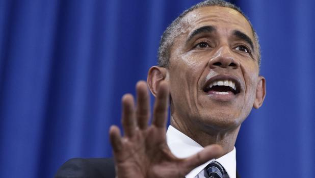 Obama, durante un discurso en Tampa (Florida) el pasado martes
