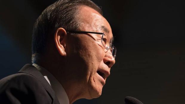 El exsecretario general de Naciones Unidas, Ban Ki-moon