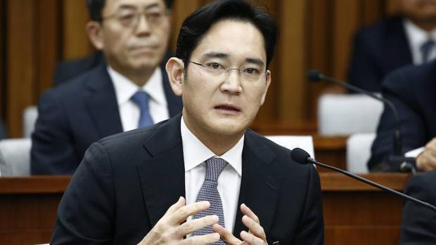 El vicepresidente de Samsung Electronics y heredero del Grupo Samsung, Lee Jae-yong