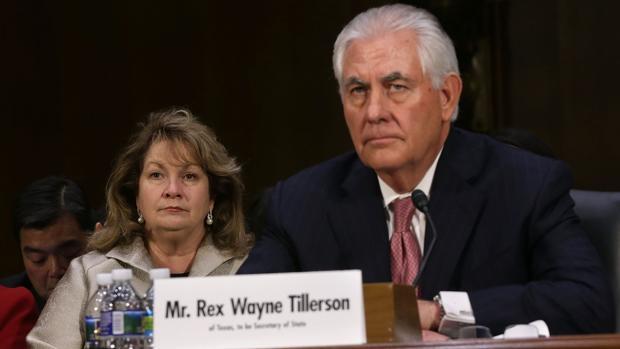 Tillerson, ante el Senado