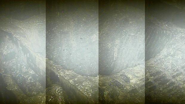 Combinación de imágenes grabadas por un robot en el reactor 2 de Fukushima