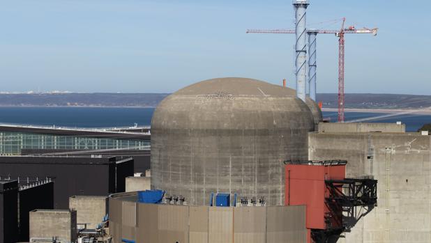 La central nuclear de Flamanville, en el norte de Francia