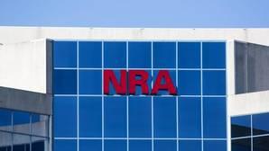 Vista de la sede de la Asociación Nacional del Rifle (NRA) en Fairfax, Virginia, Estados Unidos