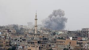 Enfrentamiento entre los rebeldes y el régimen sirio, en la ciudad de Deraa, conde empezó el conflicto