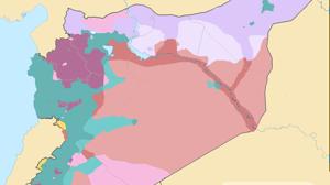 Los tres grandes frentes de la guerra de Siria