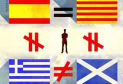 Cataluña y Escocia, dos casos incomparables