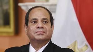 El presidente egipcio, Abdelfatah al Sisi,