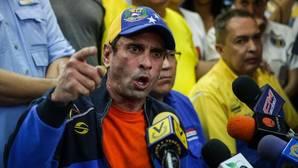El gobernador del estado de Miranda y opositor, Henrique Capriles