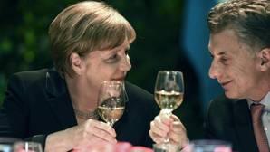 Angela Merkel y Mauricio Macri, durante la visita de la canciller alemana a Argentina