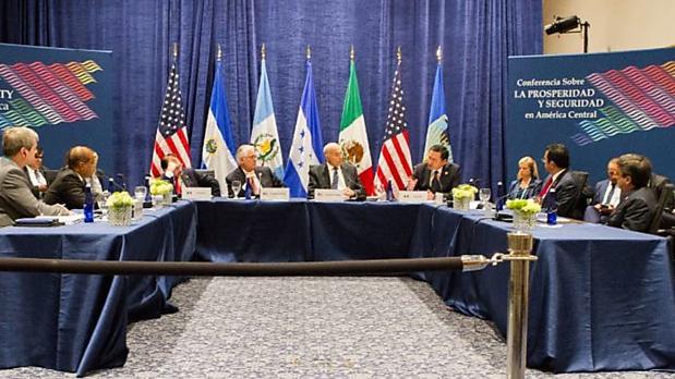 Cumbre de la Alianza para la Prosperidad del Triángulo Norte, celebrada en Miami los días 15 y 16 de junio