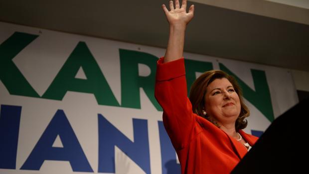 La republicana Karen Handel celebra la victoria en los comicios de Georgia (Estados Unidos)
