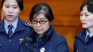 Un tribunal ha condenado a Choi Soon-sil, centro del escándalo de corrupción que sacudió Corea del Sur