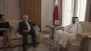 El secretario de estado de EE.UU, Rex Tillerson se reunió con el emir de Qatar, para intentar desbloquear la crisis diplomática del golfo Pérsico