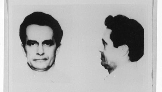 Donald Eugene Webb en una fotografía de archvio del FBI