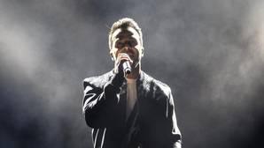 El cantante y compositor puertorriqueño Luis Fonsi, durante un concierto ofrecido en Las Palmas