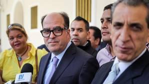 El presidente de la Asamblea Nacional de Venezuela, el diputado Julio Borges