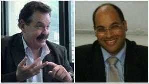 Los magistrados Gustavo Sosa Izaguirre (izquierda) y Manuel Espinoza Melet (derecha)