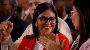 Delcy Rodríguez ha sido elegida, por abrumadora mayoría, presidente de la Asamblea Nacional Constituyente