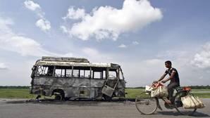 Cuatro turistas españoles mueren en un accidente de tráfico en el sur de la India