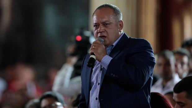 Diosdado Cabello, en una imagen de ayer, 5 de agosto de 2017