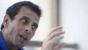 El dirigente opositor venezolano Henrique Capriles