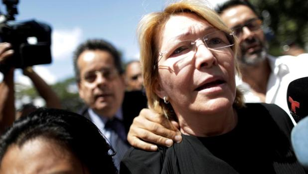 Luisa Ortega Díaz, ya exfiscal general venezolana
